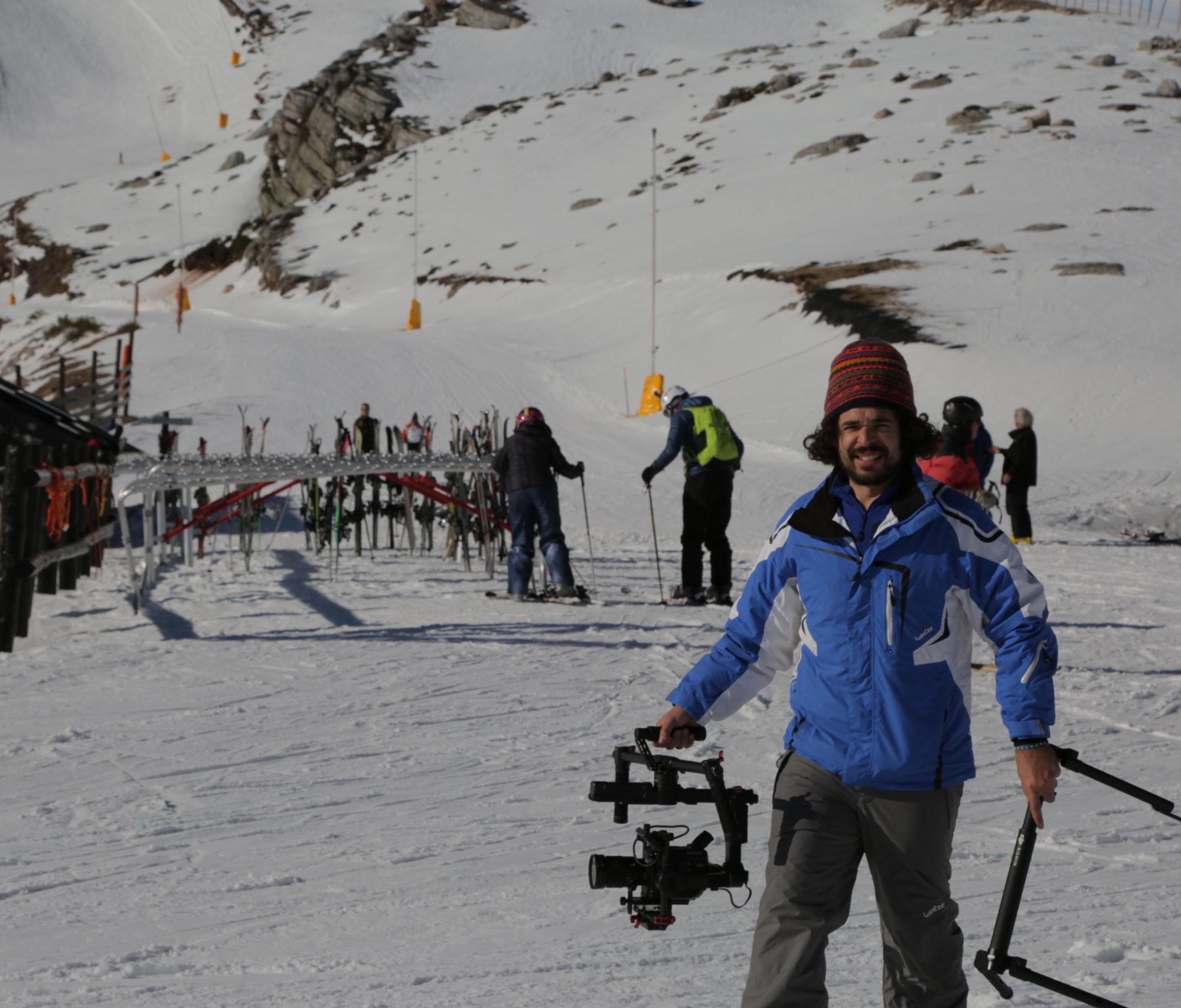 No son los 80... rodaje estación de esquí Alto Campoo