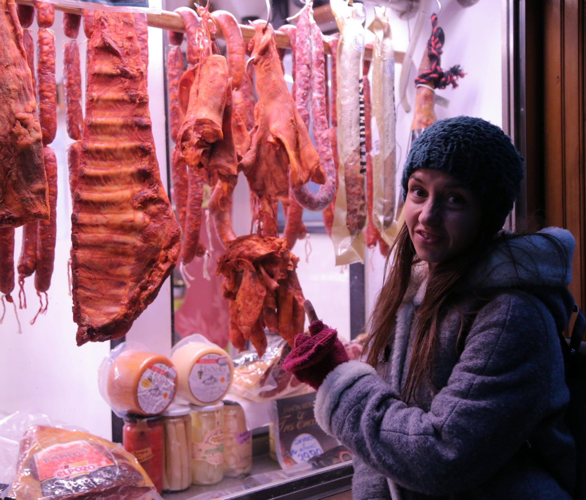 Alucinando con la carne en los rodajes de los pueblos